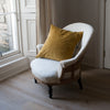 Kirsten Hecktermann yellow velvet cushion cover