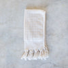hand loomed organic cotton Turkish towel