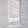handwoven unbleached organic cotton Turkish towel
