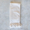 handwoven  GOTS organic cotton Turkish towel