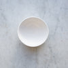 handmade stoneware matte white bowl UK