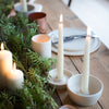 INGREDIENTS LDN CANDLESTICK SAUCER IN MATTE WHITE