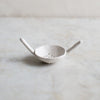 INGREDIENTS LDN handmade matte white tea strainer