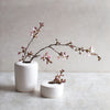 INGREDIENTS LDN modern handmade matte white ceramic vases