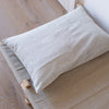 EXTRA LARGE HANDWOVEN COTTON CUSHION COVER IN SOFT CHARCOAL