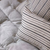 Stripe luxury cotton cushion covers UK