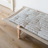 KAPOK Stackable DAYBED MATTRESS in STRIPED fabric
