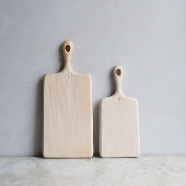 INGREDIENTS LDN maple cutting boards