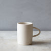 INGREDIENTS LDN matte white handmade mug