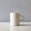 INGREDIENTS LDN simple ceramic mug in white