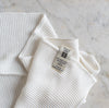 iris hantverk organic cotton hand towel white UK