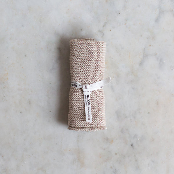 INGREDIENTS LDN organic cotton washcloth