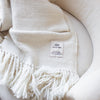 sustainably produced woollen blanket