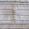 kapok filled quilt mattress in stripes