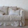 HANDWOVEN COTTON CUSHION COVERS IN TRADITIONAL STRIPES