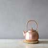 INGREDIENTS LDN Japanese woven trivets and copper kettle