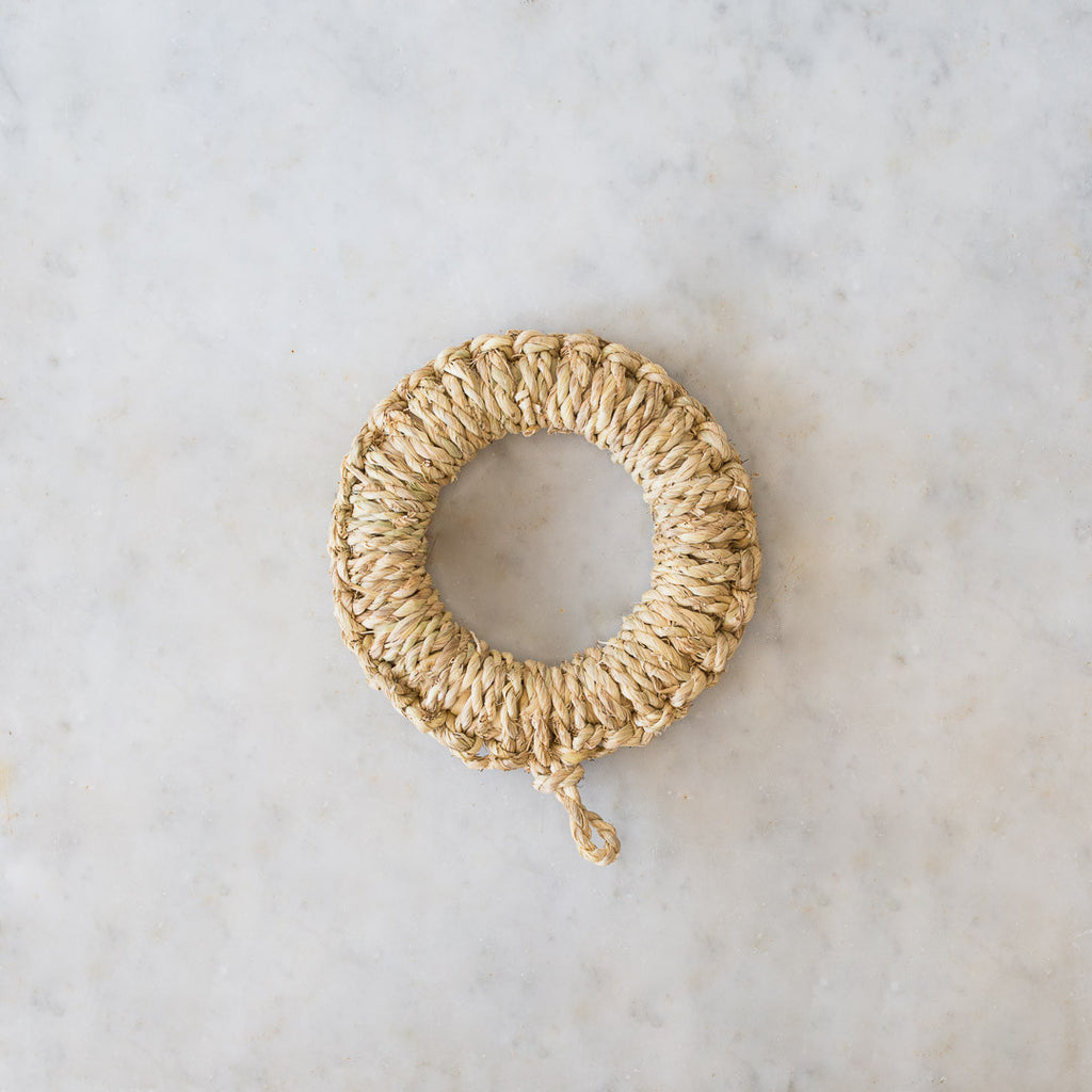 INGREDIENTS LDN NATURAL HANDWOVEN TRIVET