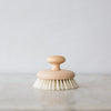 natural dry brushing body brush