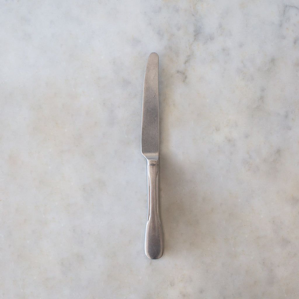 INGREDIENT SLDN Stone washed dessert knife