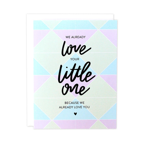 Love Your Little One Baby Card
