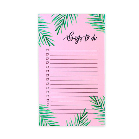 Tropical Palms Notepad