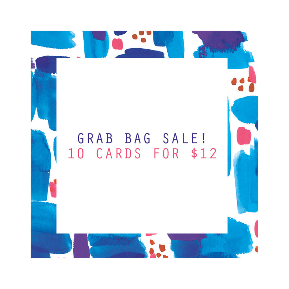 Grab Bag Sale! - 10 Cards for $12