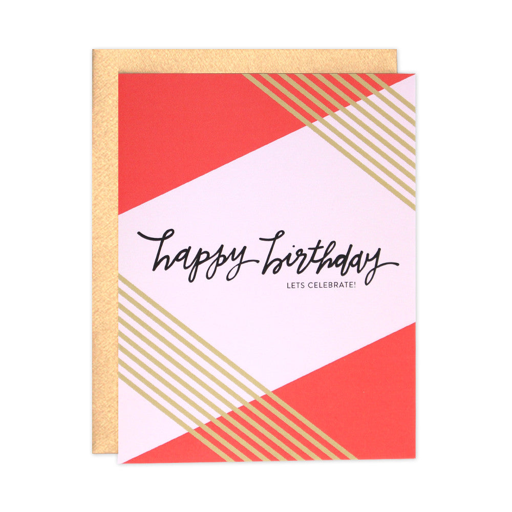 Let's Celebrate Birthday Card