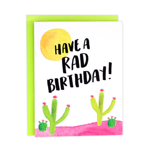 Cactus Rad Birthday