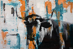 Orange Teal Steer