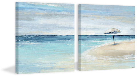 Paradise Shore II Diptych