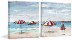 Summer Tents II Diptych