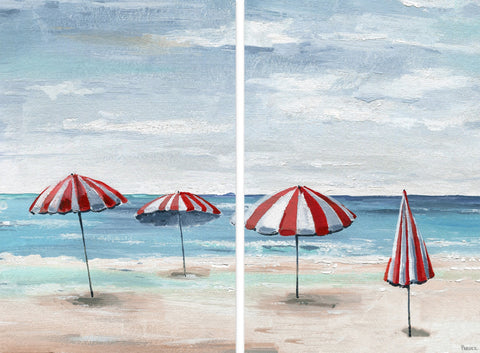 Umbrella Sticks Diptych
