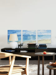 Deep Blue Sea Triptych