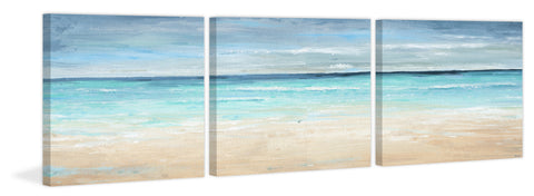 Vast Blue Sea Triptych