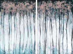 Magical Forest Diptych