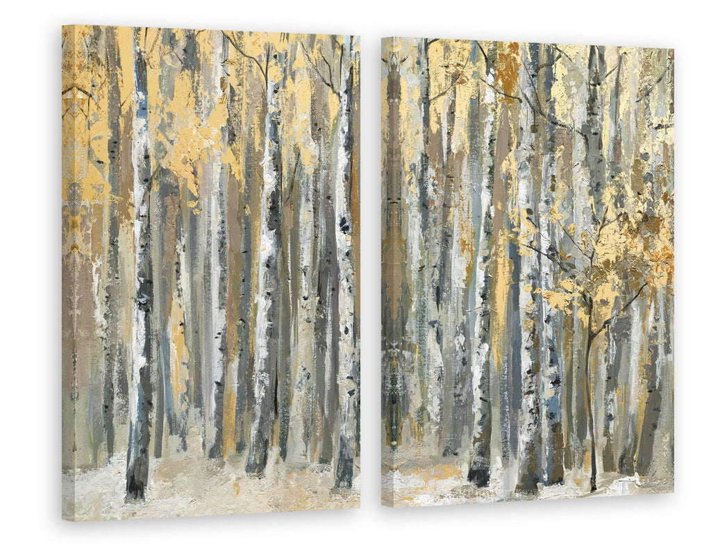 Autumn Forest Diptych