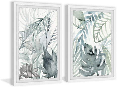 Mystic Tropical Diptych