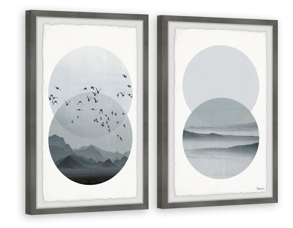 Twilight Paradise Diptych