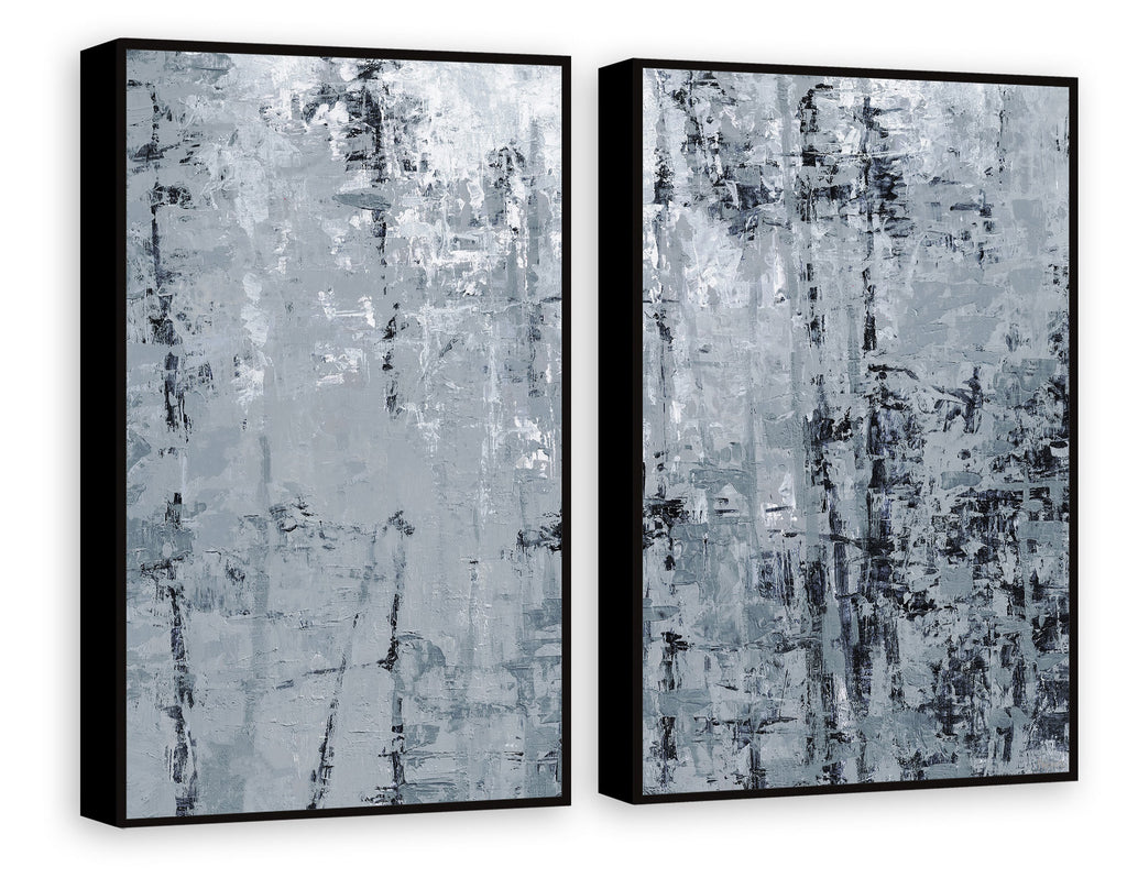 Forest Shadow Diptych