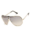 rex gold gray black sunglasses