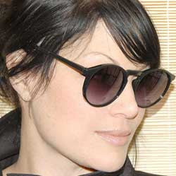 dolly black sunglasses