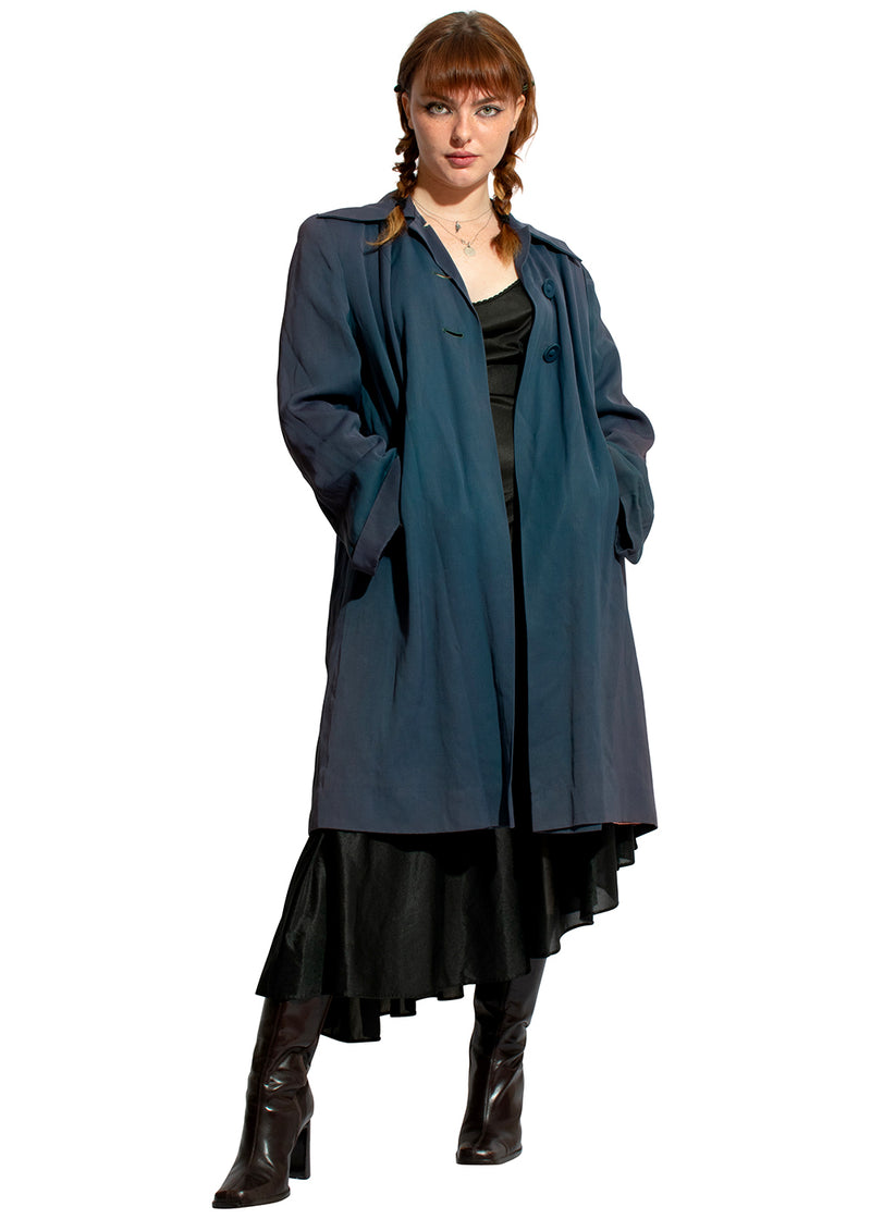 40s Navy Trench