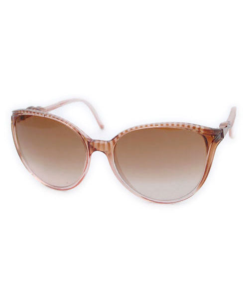ABELIA Brown Cat-Eye Sunglasses