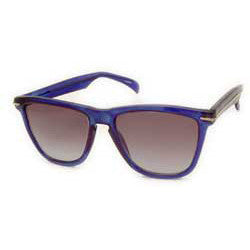 kendall crystal blue sunglasses