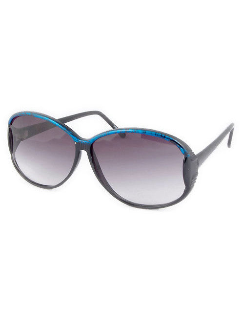 lou lou black blue sunglasses