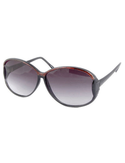lou lou black brown sunglasses