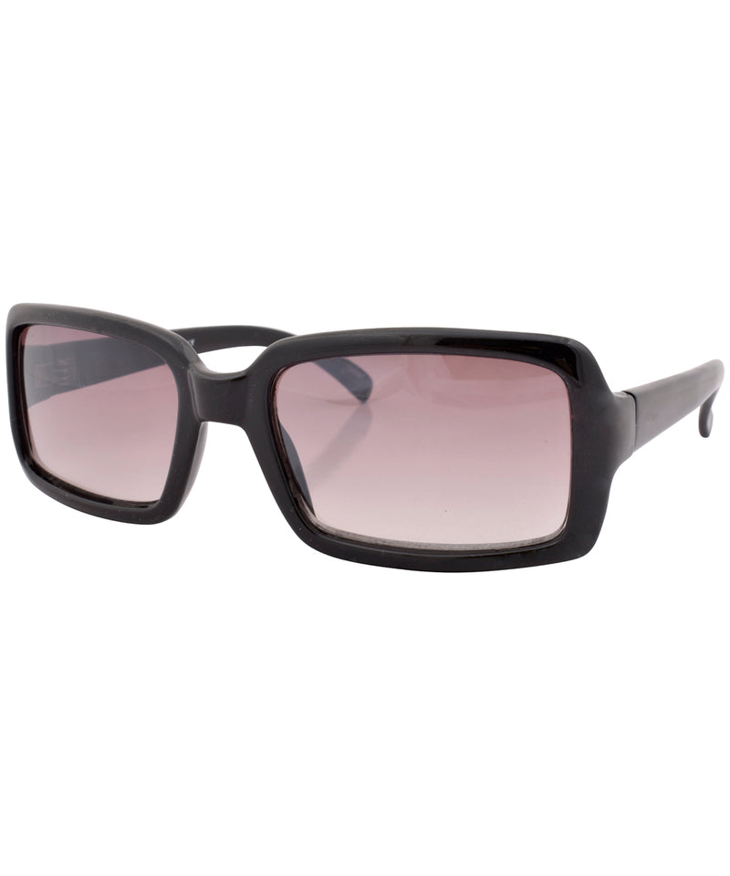 a one black sunglasses
