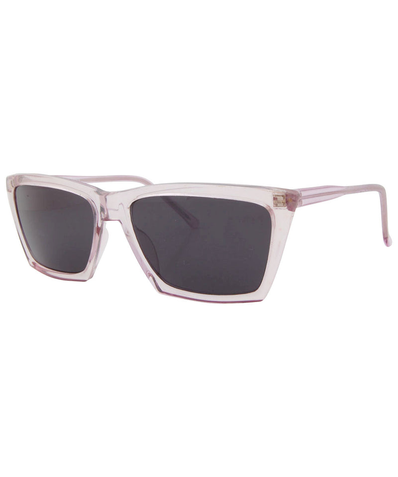 ACES Crystal Rose Square Sunglasses
