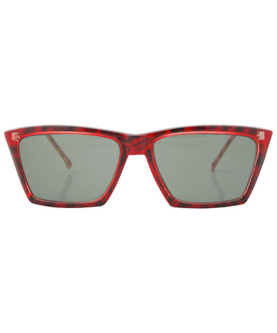 aces red black sunglasses