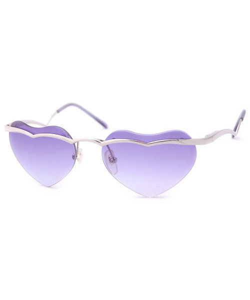 adore purple sunglasses